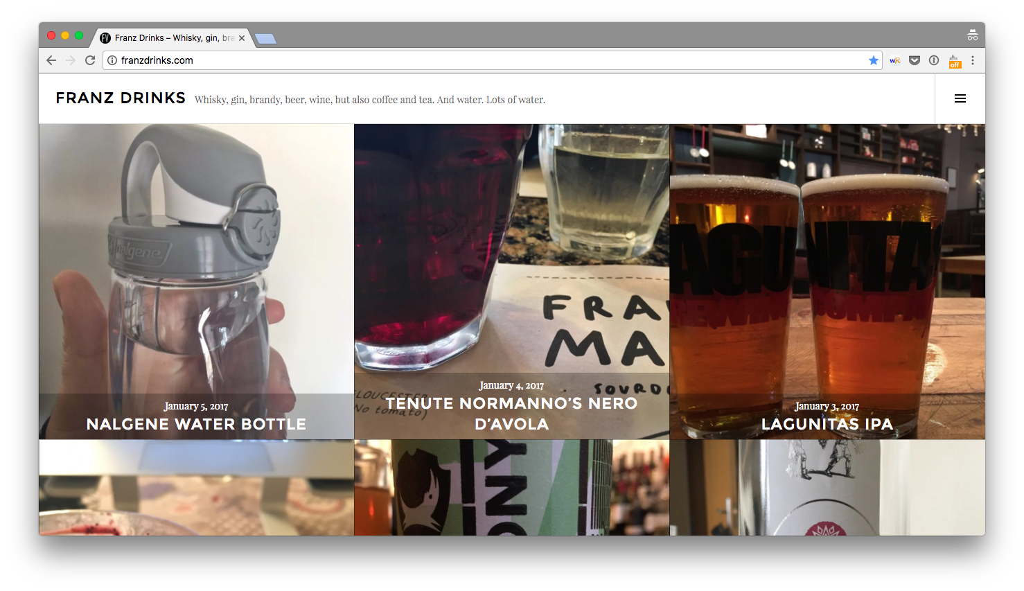 Franz Drinks homepage
