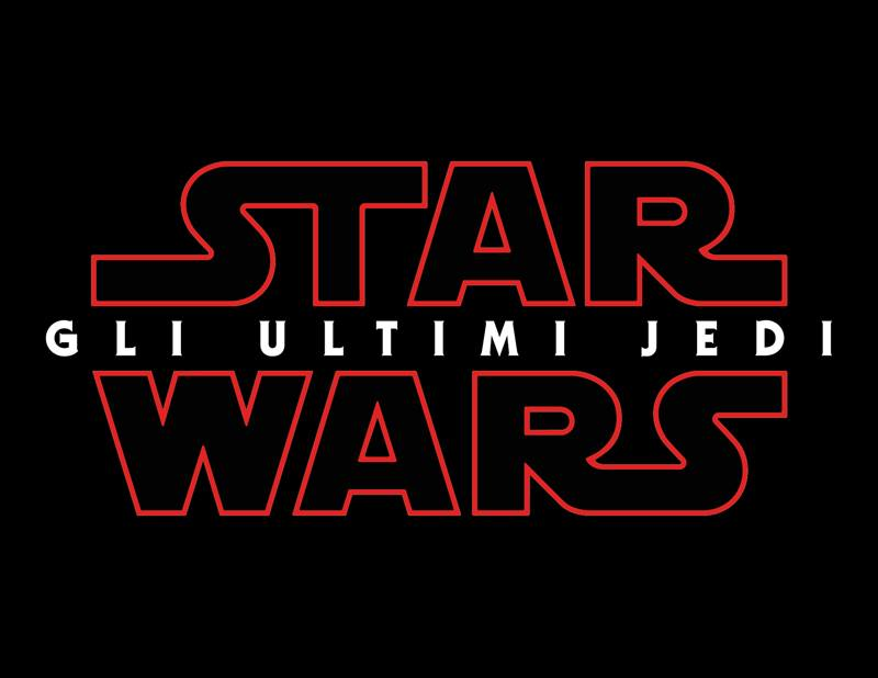 Star Wars The Last Jedi in Italian