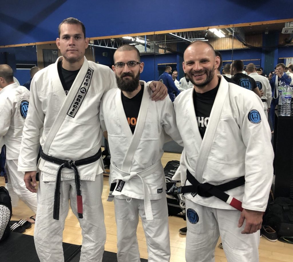 Roger Gracie, Franz and Dom Debiec.